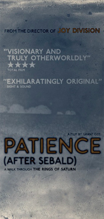 Patience (After Sebald) – Grant Gee Q&A at the Watershed, Bristol – Feb 2012