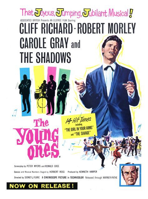 The Young Ones 1961 Gb Abpc Elstree Musical D Sidney J Furie Chor Herbert Ross Cliff Richard Robert Morley Carole Gray The Shadows Richard O Sull